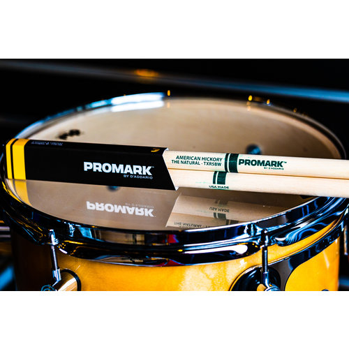 Promark Promark Classic Natural Hickory 5B Wood Tip Drum Sticks
