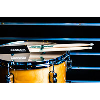 Promark Classic Natural Hickory 5A Nylon Tip Drum Sticks