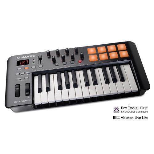 M-AUDIO Oxygen 25-Key Bus Powered Keyboard Controller