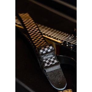 Dunlop CLASSIC BLACK/WHITE CHECK STRAP
