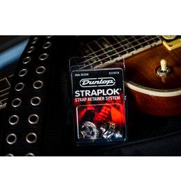 Dunlop STRAPLOK Strap Retainers Dual Design - NICKEL