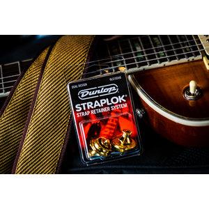 Dunlop StrapLok Strap Retainer System - Gold