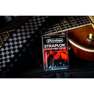 Dunlop StrapLok Strap Retainer System - Black Oxide