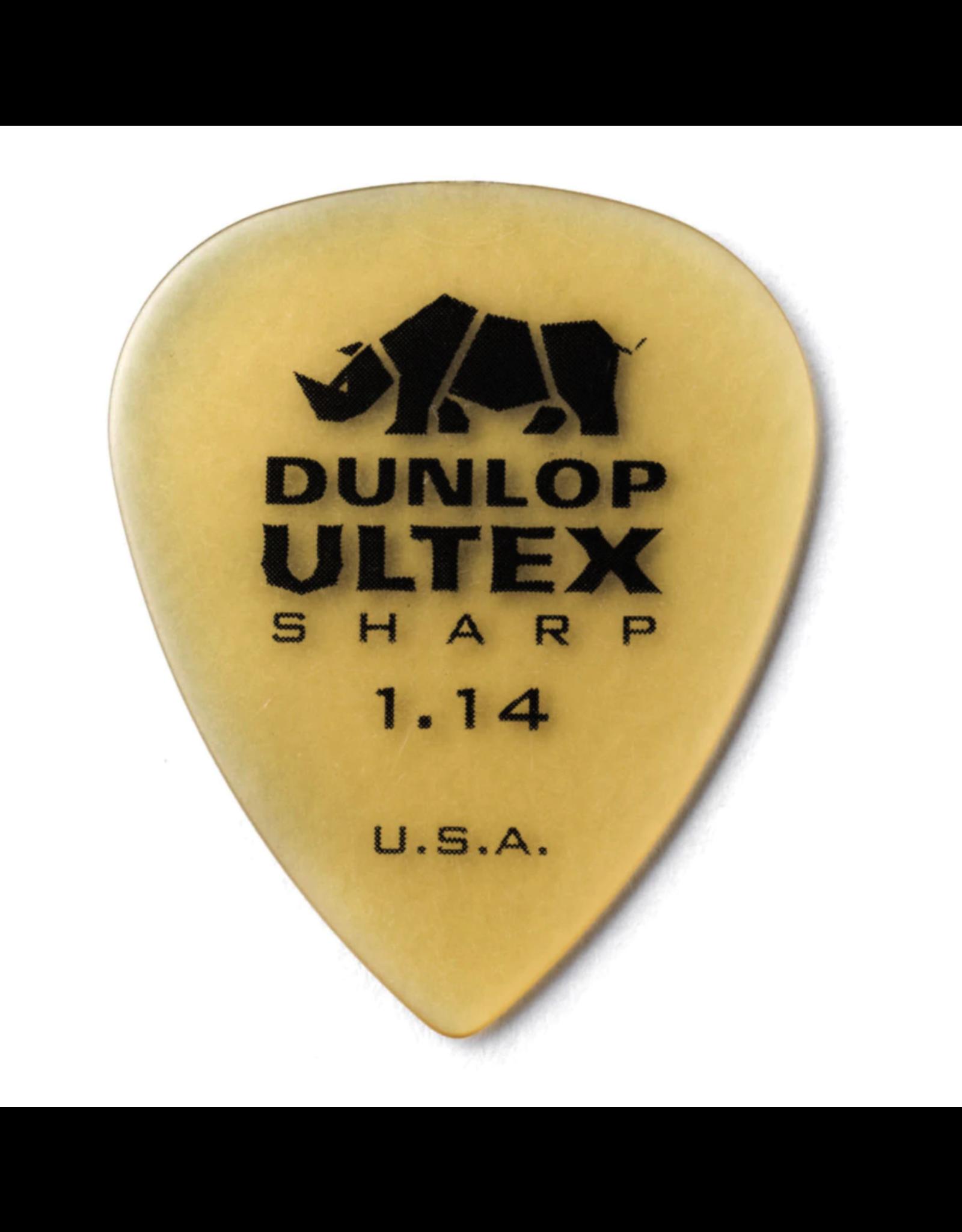 Dunlop Dunlop Ultex Sharp Pick 1.14