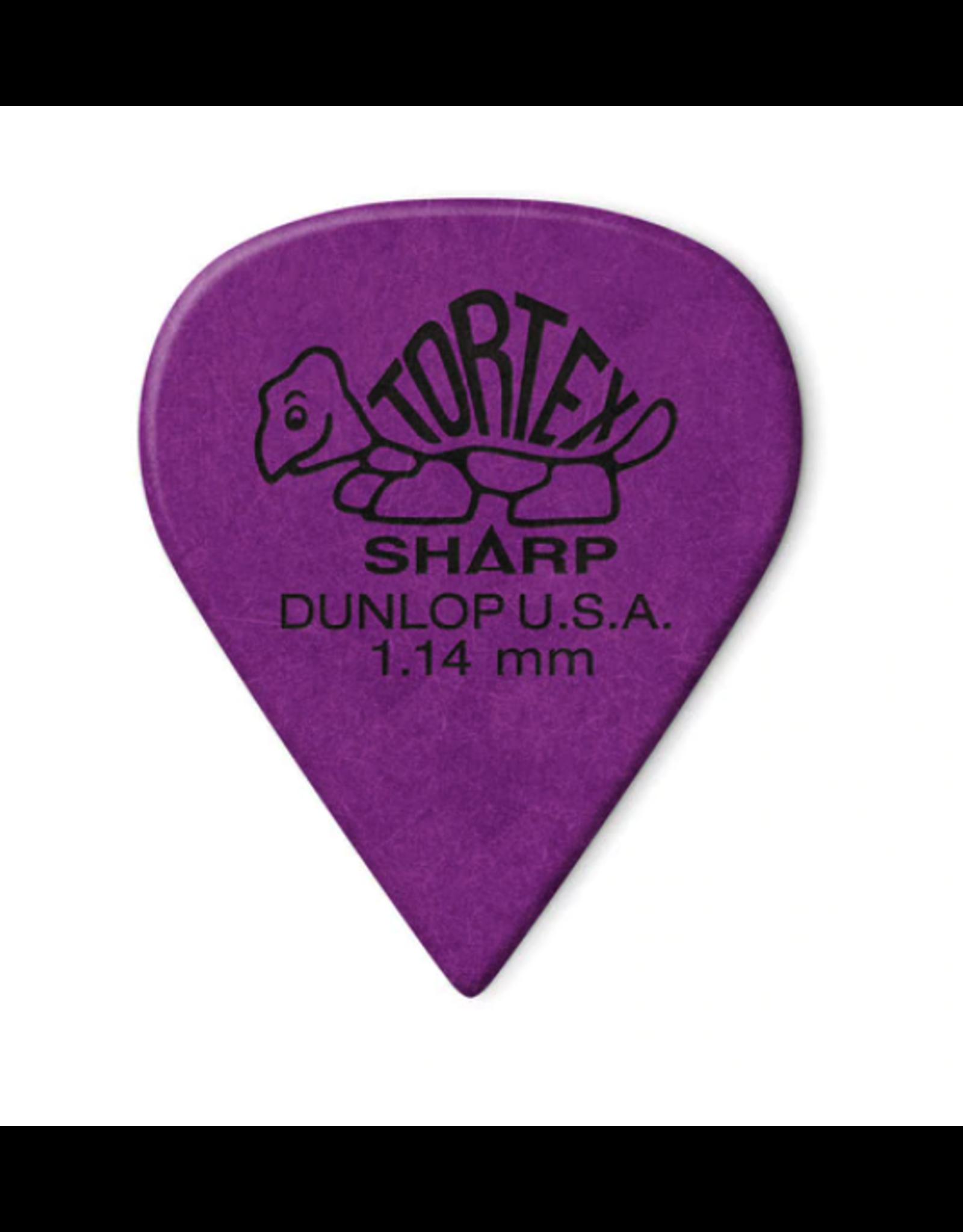 Dunlop Dunlop Tortex Sharp Pick 1.14