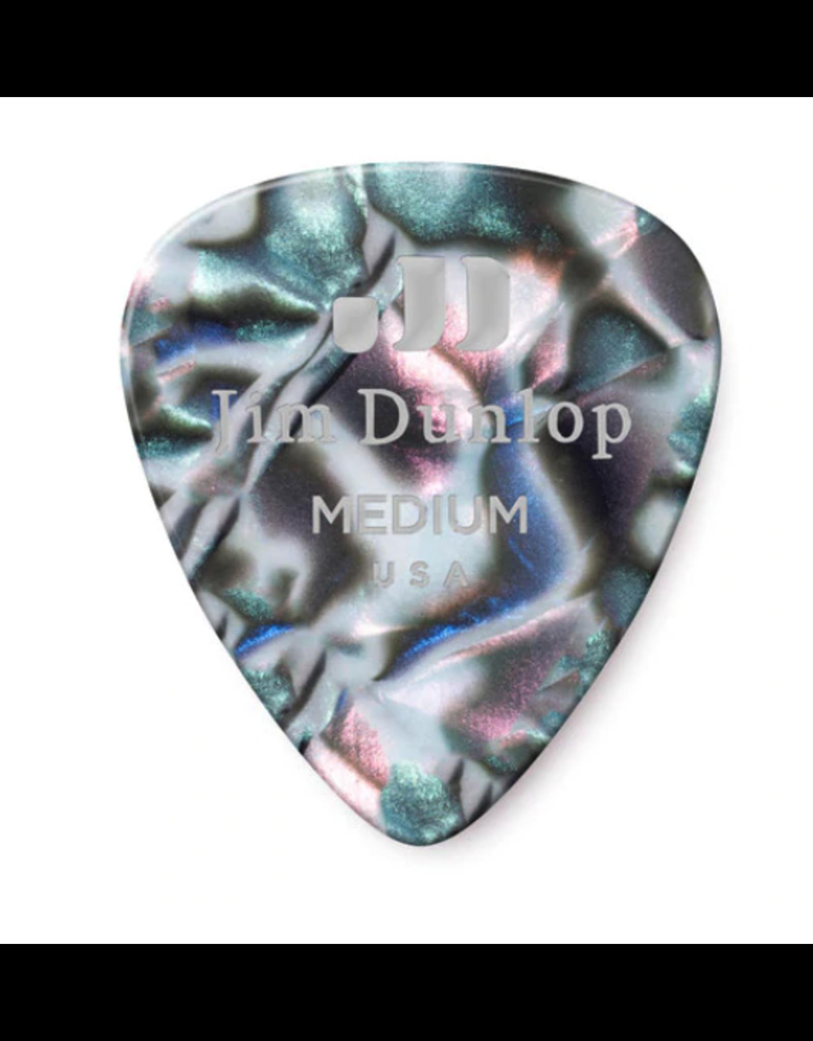 Dunlop Dunlop Abalone Classic Guitar Pick - Medium