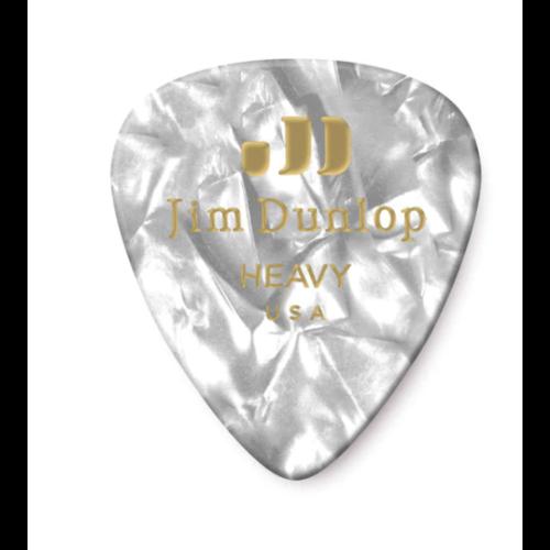 Dunlop Dunlop White Pearl Classic Pick - Heavy