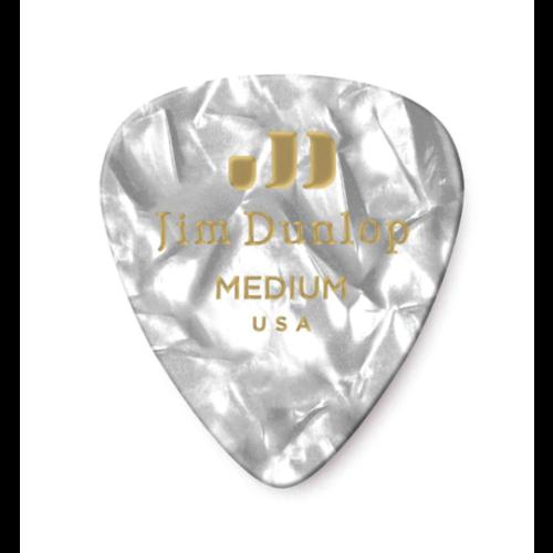 Dunlop Dunlop White Pearl Classic Pick - Medium