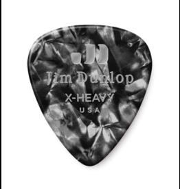 Dunlop Dunlop Black Pearl Classic Guitar Pick - Extra Heavy
