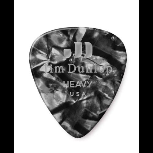 Dunlop Dunlop Black Pearl Classic Guitar Pick - Heavy