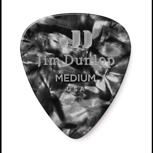 Dunlop Dunlop Black Pearl Classic Guitar Pick - Medium