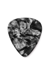 Dunlop Dunlop Black Pearl Classic Guitar Pick - Thin