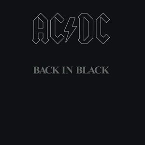 AC/DC- Back In Black Vinyl