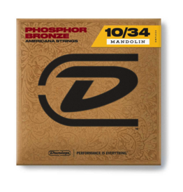 Dunlop Dunlop Phosphor Bronze Mandolin Strings 10-34