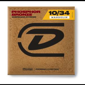 Dunlop 10-34 Phosphor Bronze Mandolin Strings