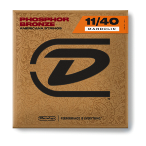 Dunlop 11-40 Phosphor Bronze Mandolin Strings