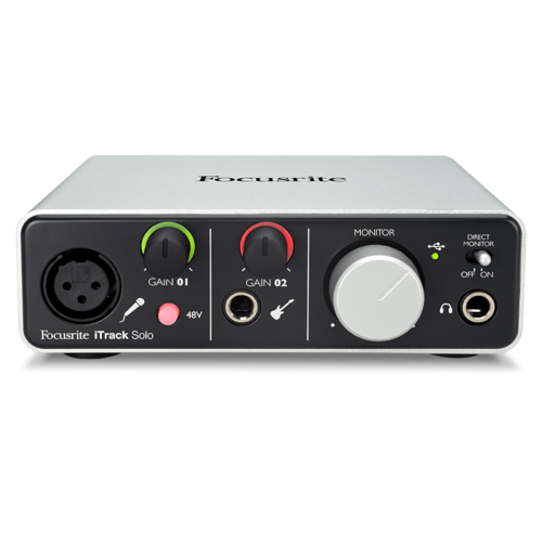 Focusrite iTrack Solo Lightning Interface