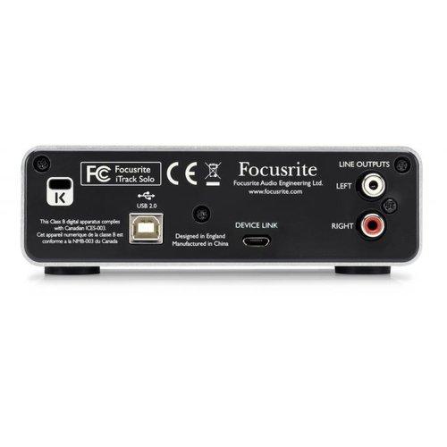 Focusrite Itrack Solo Lightning Interface