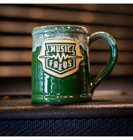 Music Freqs Mug - Green