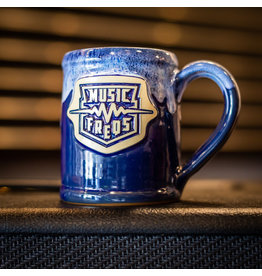 Music Freqs Mug - Blue