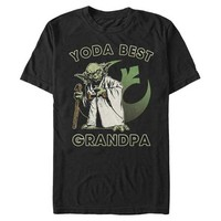 Star Wars: Yoda Best Grandpa -  T-Shirt