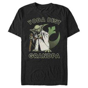 Fifth Sun Star Wars: Yoda Best Grandpa -  T-Shirt