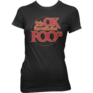 Live Nation Foo Fighters: I'm With the Foo's - Junior T-Shirt