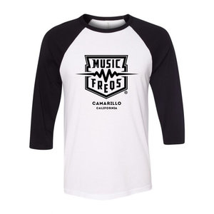 Music Freqs Music Freqs - Baseball T-Shirt