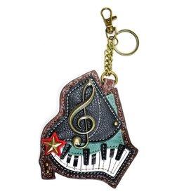 Chala Chala Coin Purse / Key Fob - Piano