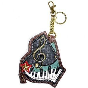 Chala Chala Coin Purse/Key Fob - Piano