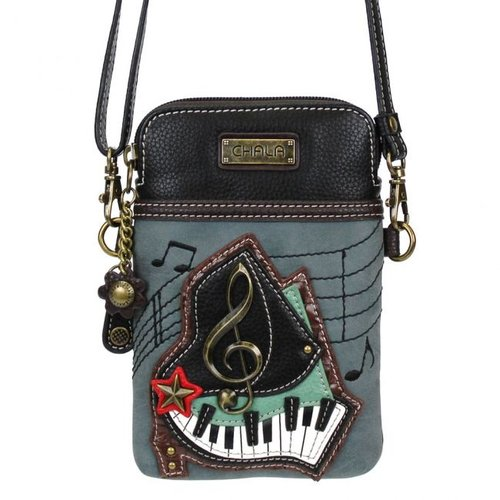 Chala Chala Piano Crossbody - Cell Phone Xbody -  indigo