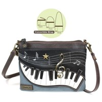 Chala Mini Crossbody - Piano - Indigo