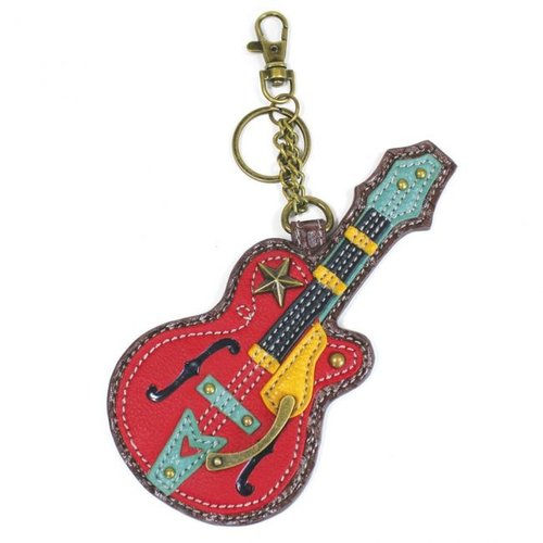Chala Chala Coin Purse/Key Fob - Guitar