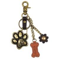 Chala Charming Keychain - Paw Print
