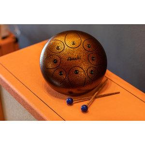 "Amahi 10"" Steel Tongue Drum, Bronze"