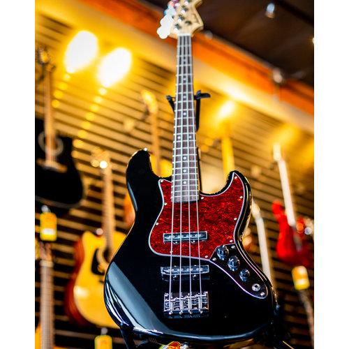 Aria Aria Pro II STB Series J Electric Bass - Black
