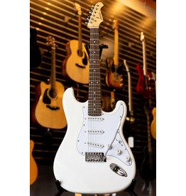 Aria Aria Pro II STG Series Electric Guitar - White