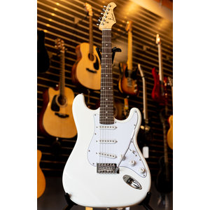 Aria Aria Pro II STG Series Electric Guitar - White