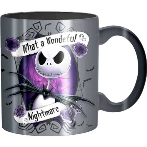 Silver Buffalo Nightmare Before Christmas Jack Wonderful Nightmare Ceramic Mug - 14oz