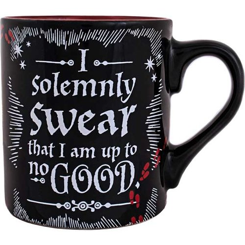 Silver Buffalo Harry Potter Up To No Good Ceramic Mug - 14oz