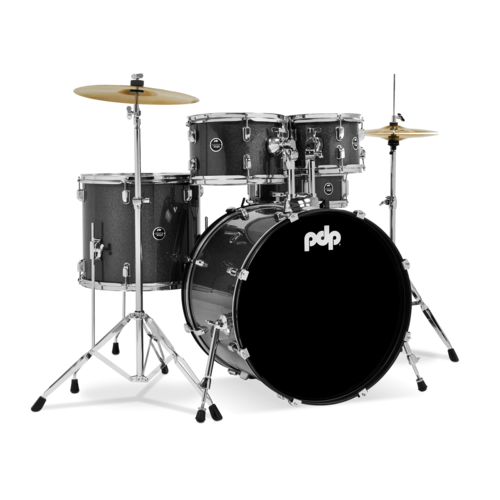 PDP PDP Center Stage - Silver Sparkle – 5-Piece Complete Kit