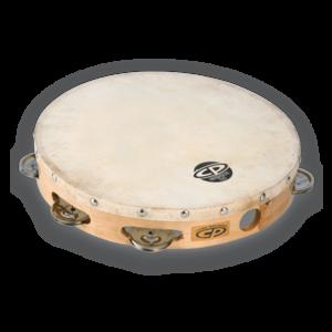 "CP CP 10"" Single Row Tambourine Steel"