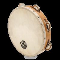"CP 8"" Single Row Head Tambourine Steel"