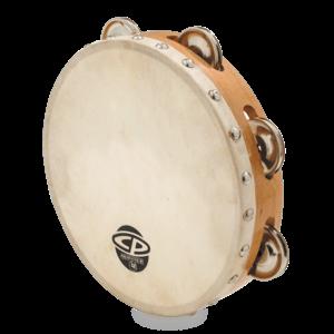 "CP CP 8"" Single Row Head Tambourine Steel"
