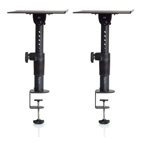 Gator Frameworks Frameworks Clamp-On Studio Monitor Stand