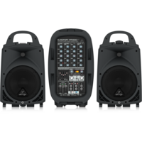 Europort PPA500BT 6-channel Portable PA System with Bluetooth
