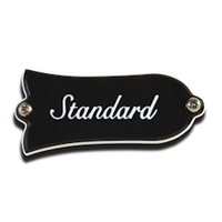 "Truss Rod Cover, ""Standard"" (Black)"