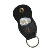 Premium Leather Pickholder Keychain