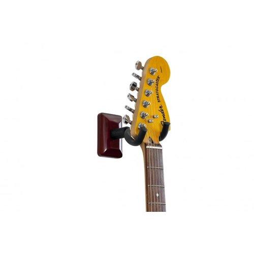 Gator Frameworks GFW Guitar Wall Hanger with Cherry Finish