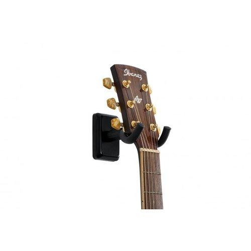 Gator Frameworks GFW Guitar Wall Hanger with Black Finish
